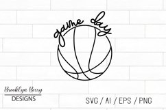 Game Day Basketball SVG Product Image 2