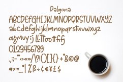 Dalgona - Handlettering Font Product Image 3