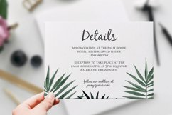 Invitation Mockup 4 sizes. Realistic PSD mockup Product Image 5
