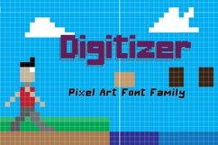 Digitizer - Pixel Font Family Product Image 1