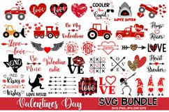 Valentines day SVG Bundle Love SVG Files, Valentines svg Product Image 1