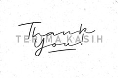Web Font - Jee Wish - Handlettered Brush Font Product Image 6
