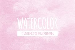 Pink Watercolor Texture Backgrounds Product Image 1