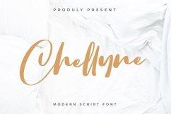 Chellyne - Modern Script Font Product Image 1