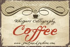 Whispers Calligraphy Sinuous_Bold Product Image 2