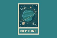 Retro Solar System Poster Product Image 8