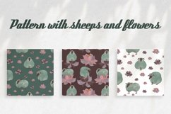 Pattern with sheeps Product Image 1