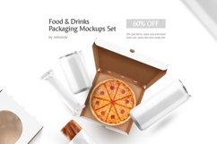 Food & Drinks Packaging Mockup Set Product Image 1