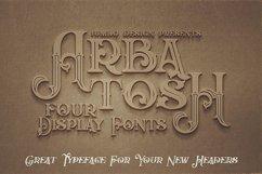Arbatosh - Display Font Product Image 4