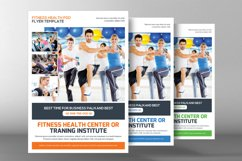 Fitness Training Center Flyer Product Image 2