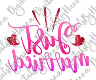 Just Married Wedding Sign Newlyweds Sublimation Print File Product Image 3