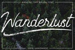 Wanderlust - Dry brush font Product Image 1