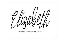 Elisabeth Script Font Product Image 1