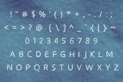 Zigzag handwritten font in tff and otf Product Image 3
