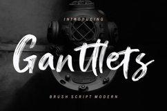 Ganttlets Brush Script Product Image 1