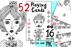Playing Cards Vector and PNG Product Image 1