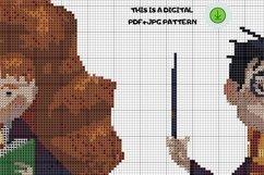 Mini bottle cross stitch pattern PDF, Mason jar Xstitch fox Product Image 8