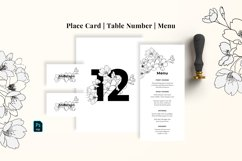 Modern Sketch Wedding Suite Product Image 5