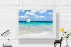 Sailboat - Watercolor - Wall Art - Digital Print Product Image 1