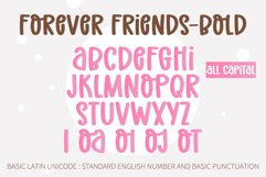 Forever Friend- A handwritten font duo Product Image 4