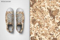 British Flecktarn Camouflage Seamless Patterns Product Image 3