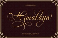 Himalaya script Product Image 1