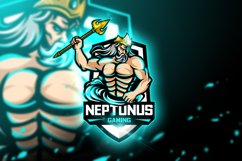 Neptunus Gaming - Mascot & Esport Logo Product Image 1