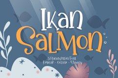 Ikan Salmon - Handwritten Fonts Product Image 1