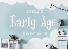 Early Age-kind font Product Image 1
