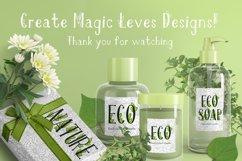 Onferia - decorative leaf font Product Image 6