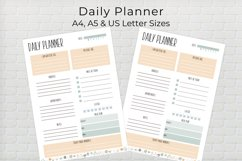 Daily Planner Template Product Image 1