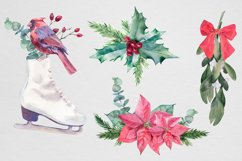Christmas Watercolor compositions Product Image 2