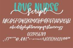 Love Nurse - A handwritten font duo Product Image 4