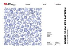10 Abstract Doodle Illustrations Product Image 2