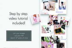 Instagram Puzzle Feed Template 2 Product Image 4
