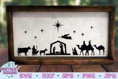 Nativity Scene SVG | Nativity SVG | Christmas SVG Product Image 1