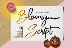 Bloomy Script Product Image 1
