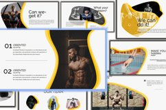 Gesture Athletics Powerpoint Template Product Image 6