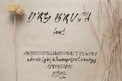 Grunge dry brush font Product Image 1