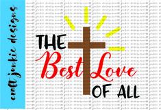 The Best Love SVG Product Image 1