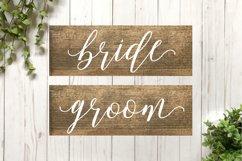 Wedding SVG Cut File Bundle for Signs Product Image 2