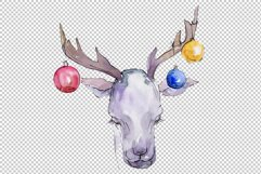 Christmas sweets watercolor png Product Image 6