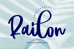 Railon - A Beauty Script Font Product Image 1