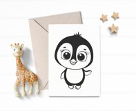 Penguin svg, Baby animals SVG, Set of cute Penguins cliparts Product Image 3