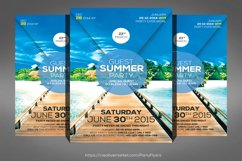 Bright Summer Party Flyer Product Image 1