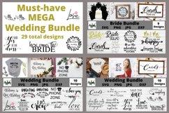 MEGA Wedding Bundle, Wedding svg Bundle, Bride svg bundle Product Image 1