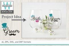 Wedding SVG - Groom Product Image 1