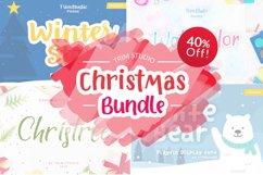 Trim Studio Christmas Bundle Fonts Collection Product Image 2
