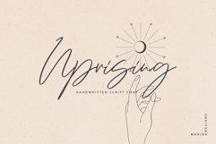 Uprising handwritten script Product Image 1