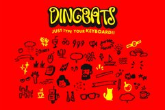Swaylea | Layered Font and Dingbats Product Image 4